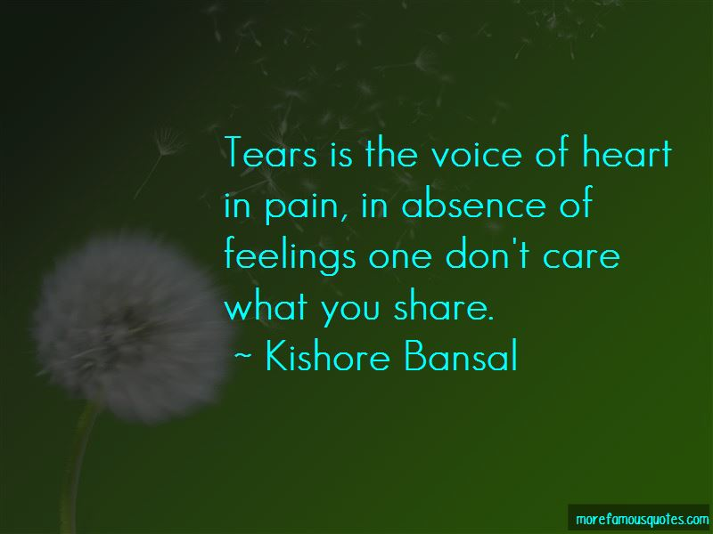 Voice Of Heart Quotes