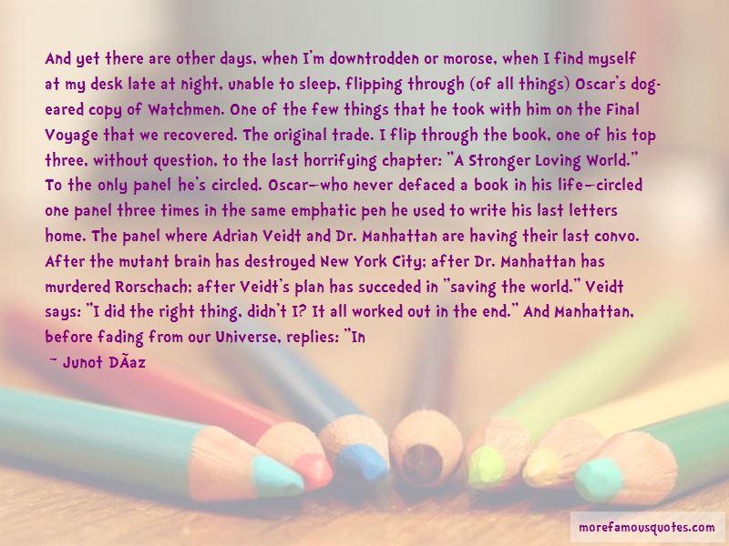 Watchmen Book Rorschach Quotes