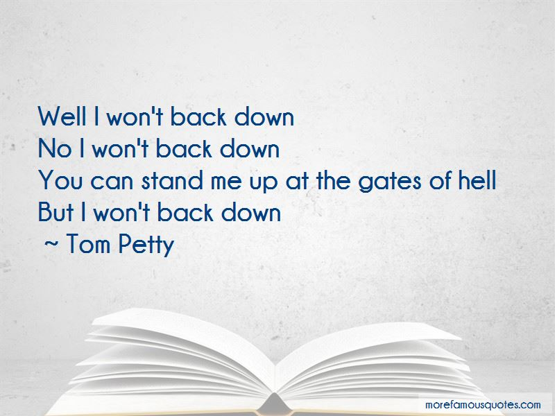 Won't Back Down Quotes
