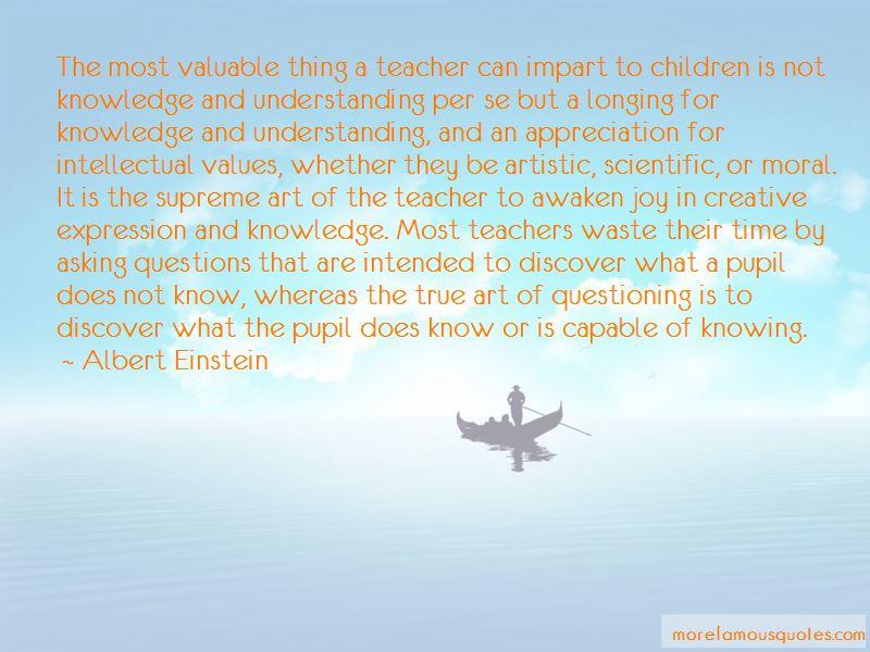 Appreciation For Teachers Quotes
