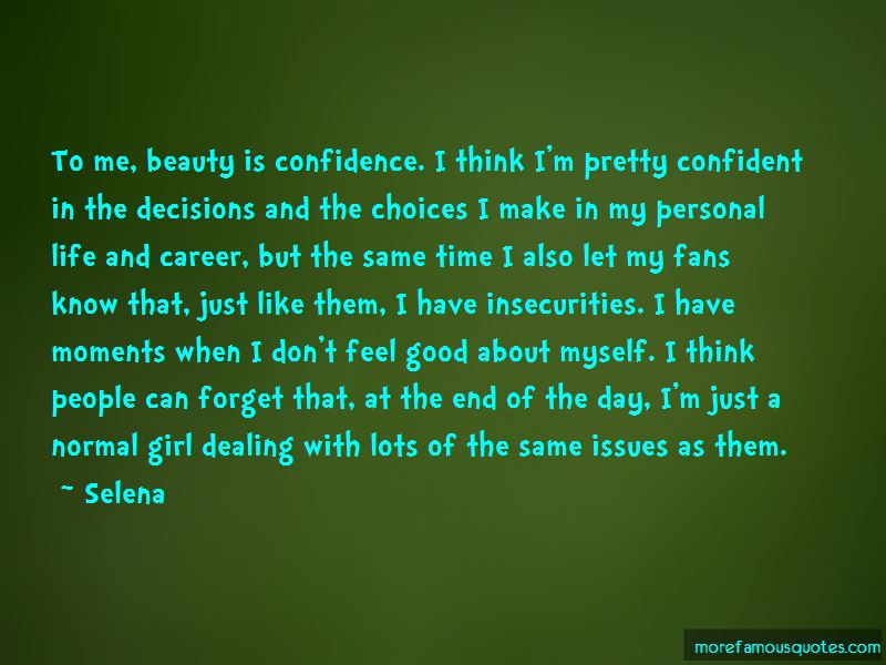 Beauty In Confidence Quotes