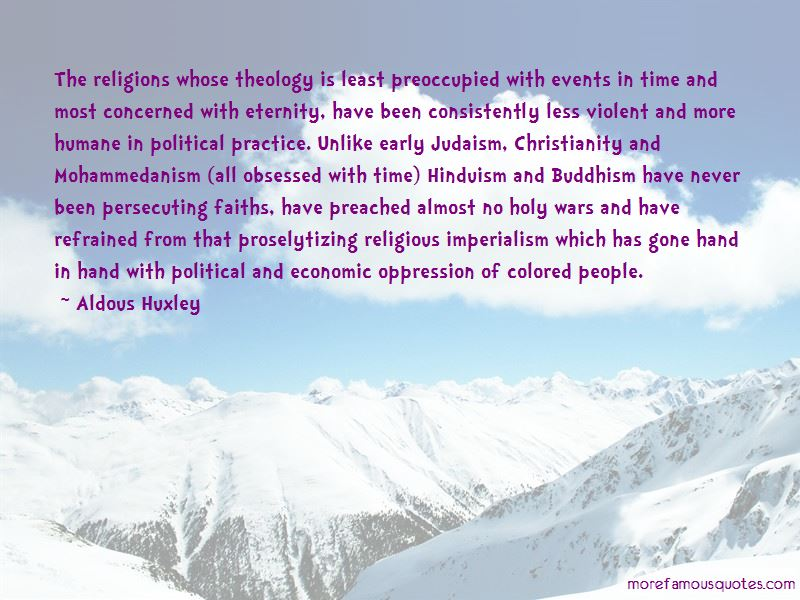 Christianity And Hinduism Quotes
