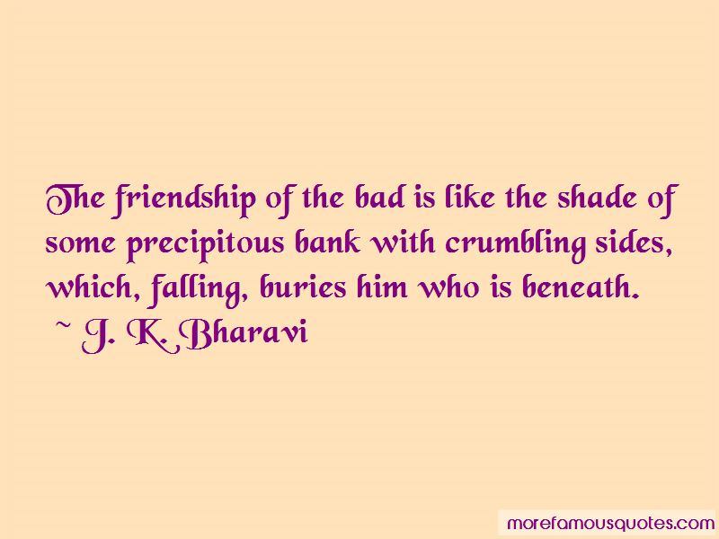 Crumbling Friendship Quotes