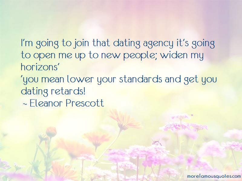 Dating Agency Quotes
