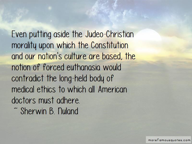 Euthanasia Christian Quotes