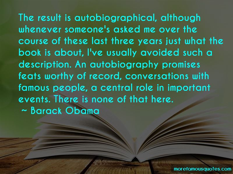 Famous Autobiographical Quotes