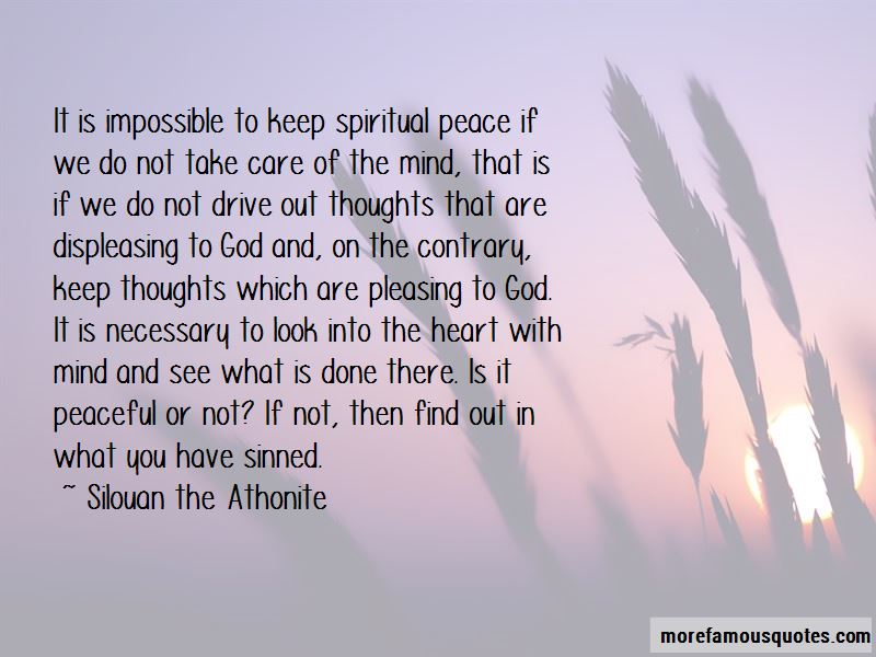 God Peace Of Mind Quotes: top 44 quotes about God Peace Of ...