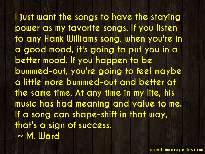 Hank Williams Song Quotes