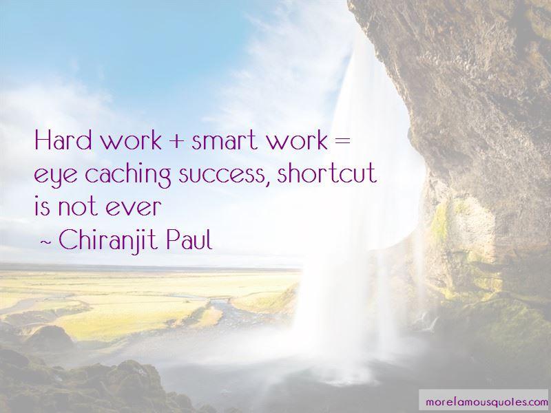 Hard Work Smart Work Quotes