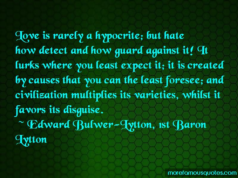 Hate From Love Quotes