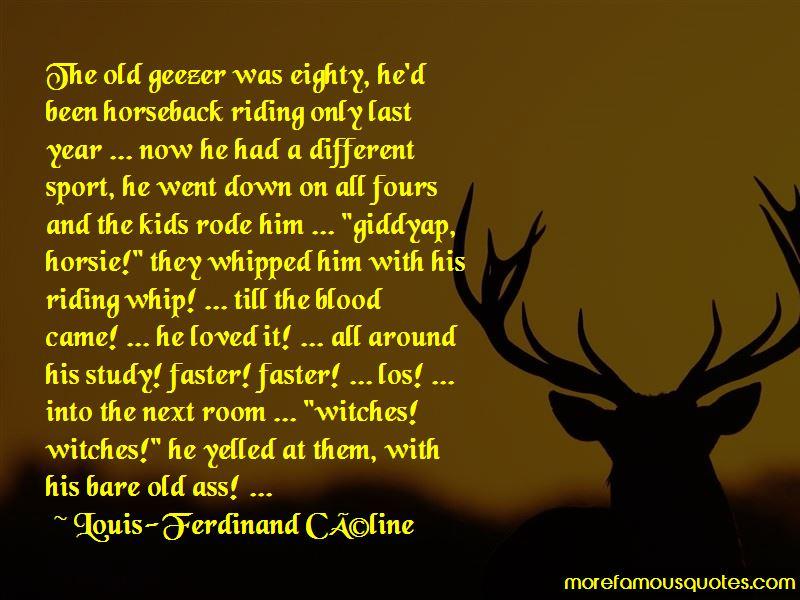 Horseback Riding Sport Quotes