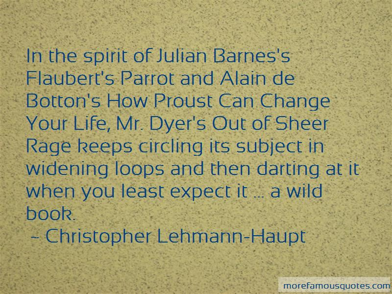 How Proust Can Change Your Life Quotes