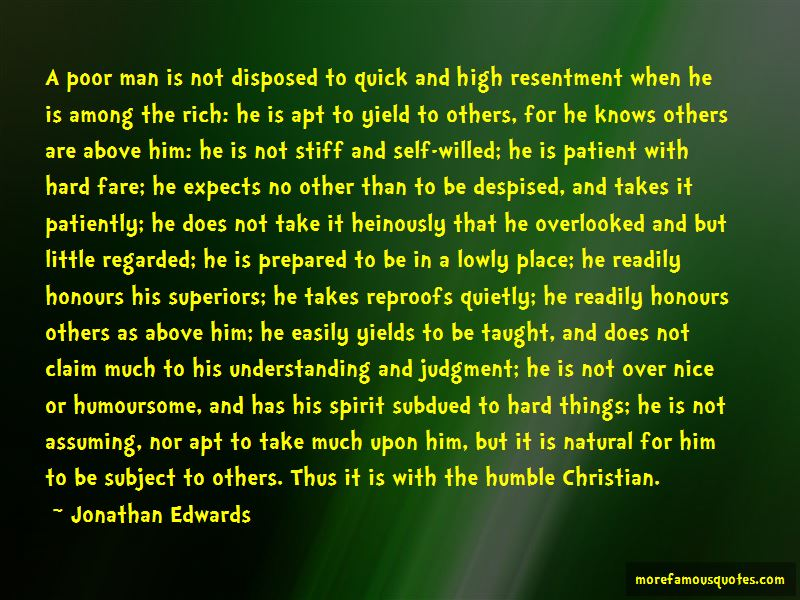 Humble Rich Man Quotes