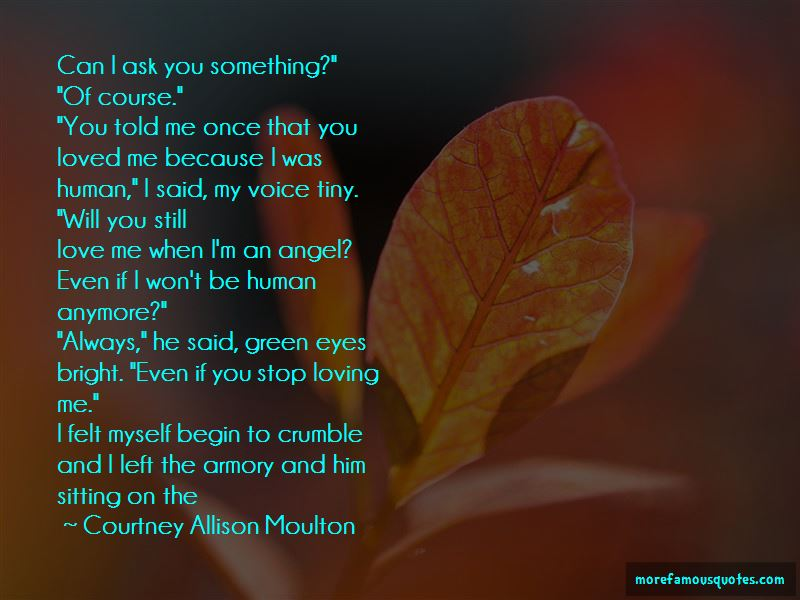 I Just Can Stop Loving You Quotes