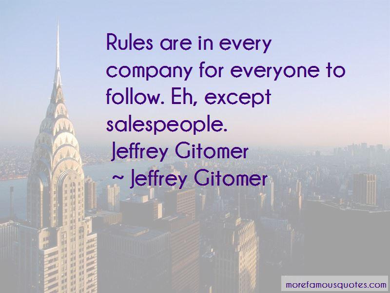 J Gitomer Quotes