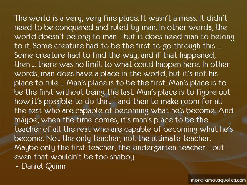 Kindergarten Teacher Quotes: top 21 quotes about ...