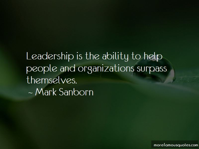 Leadership In Organizations Quotes