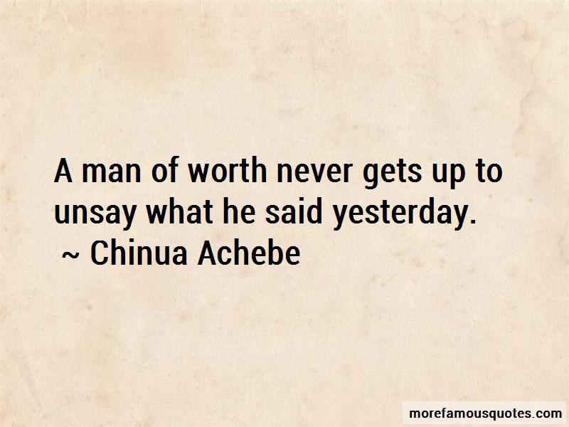 Man Of Worth Quotes Pictures 4