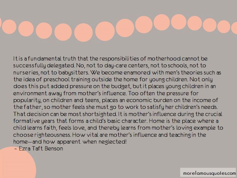 Mother's Influence Quotes Pictures 2