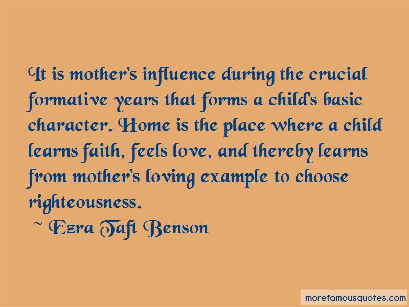 Mother's Influence Quotes Pictures 4