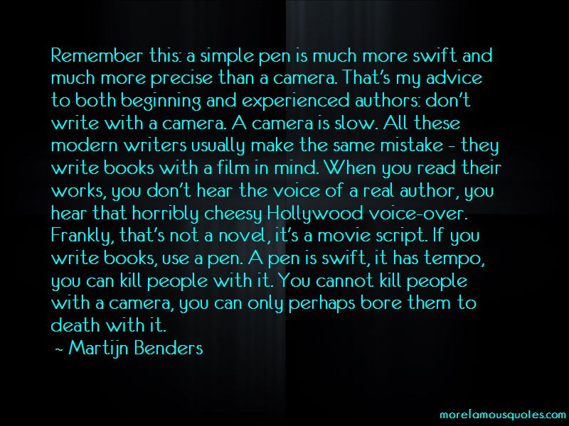 Movie Voice Over Quotes Pictures 3