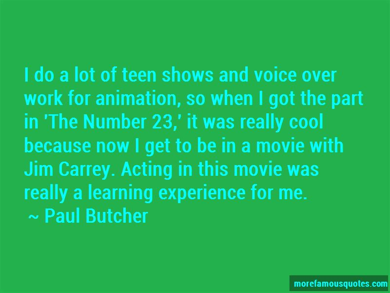 Movie Voice Over Quotes