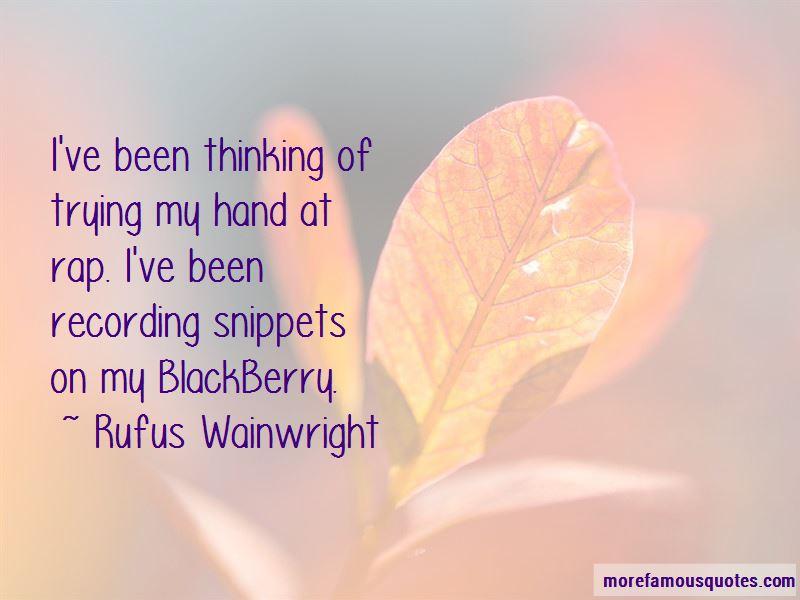My Blackberry Quotes