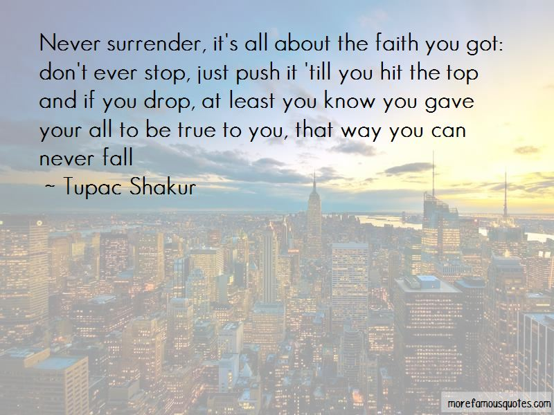 Never Ever Surrender Quotes Pictures 3