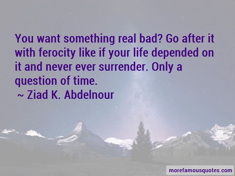 Never Ever Surrender Quotes