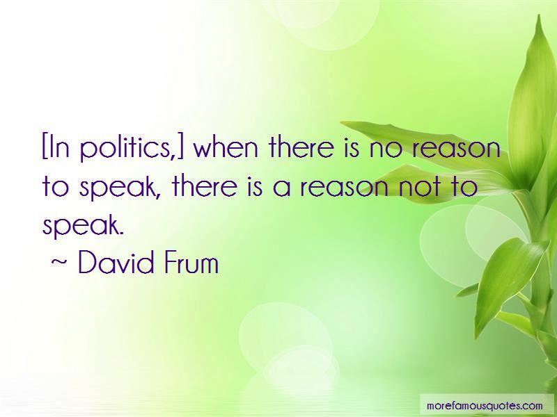 Not To Speak Quotes