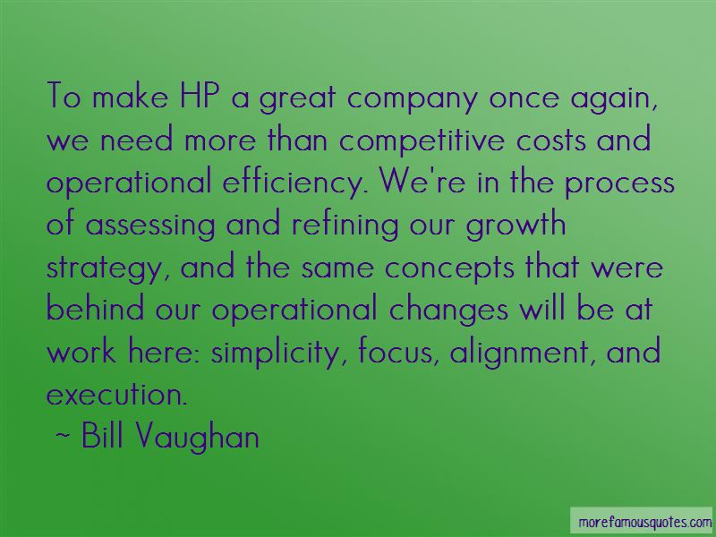 Operational Strategy Quotes