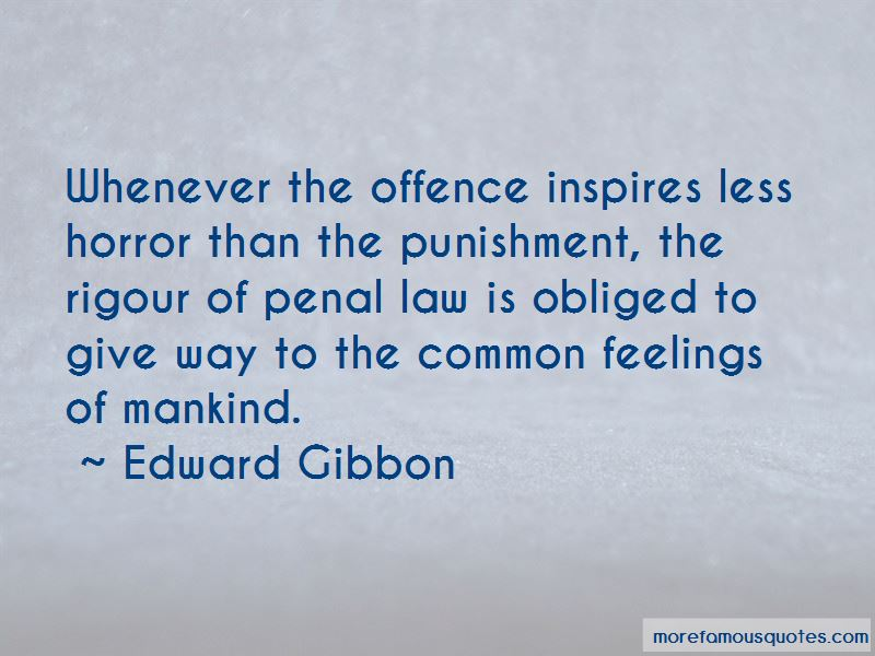 Penal Law Quotes