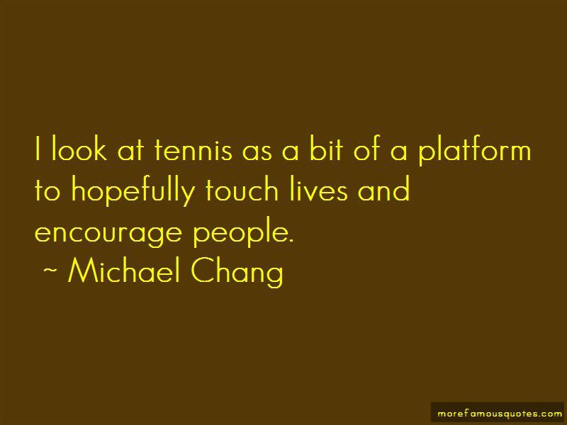 Platform Tennis Quotes