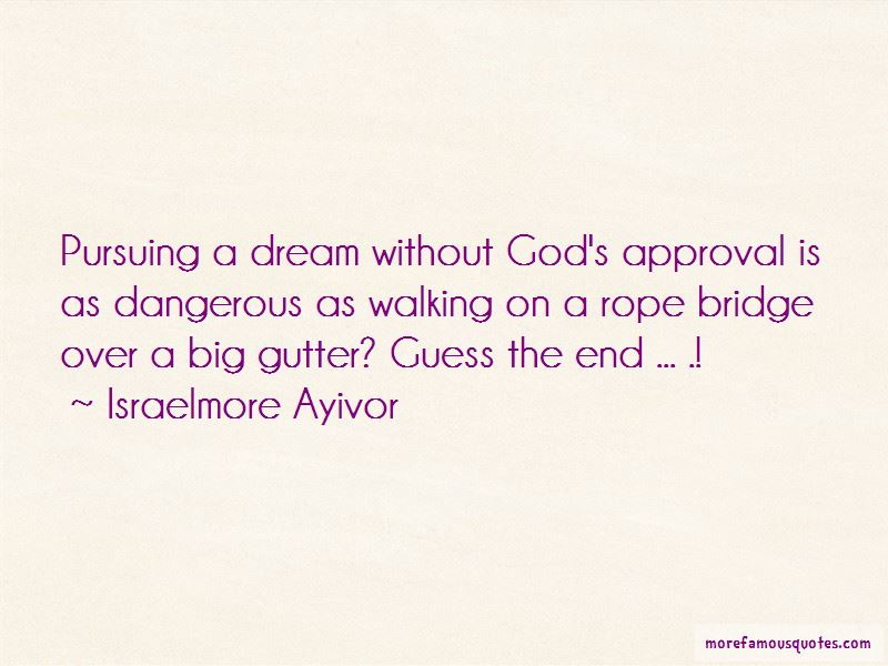Pursuing A Dream Quotes