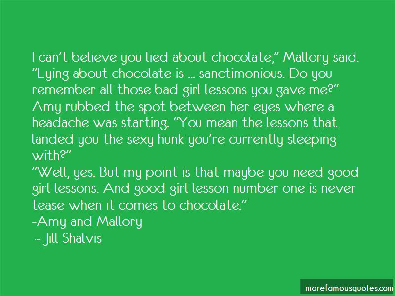 lying girl quotes