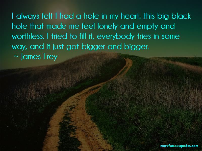 Quotes About A Hole In My Heart