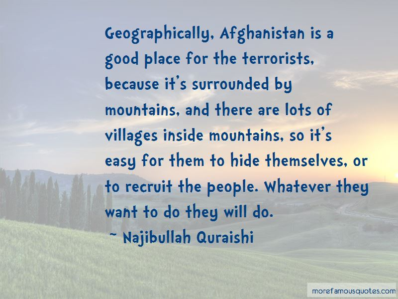 Quotes About Afghanistan Mountains