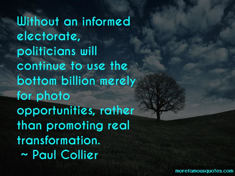 Quotes About An Informed Electorate: Top 14 An Informed