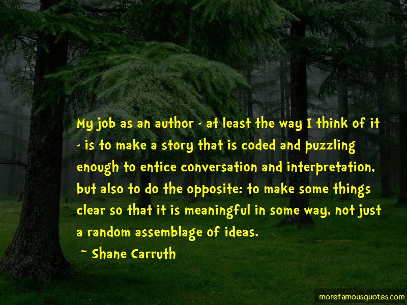 Quotes About Assemblage