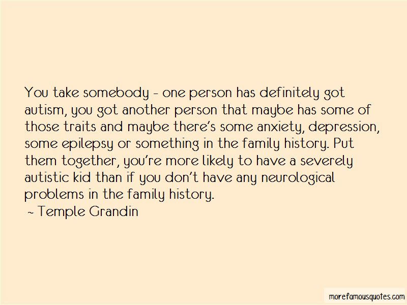 Quotes About Autism And Family