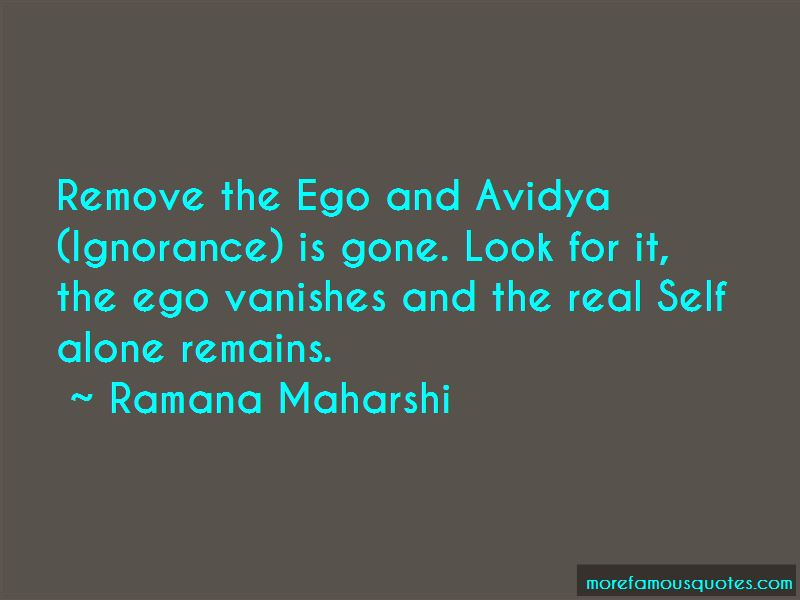 Quotes About Avidya