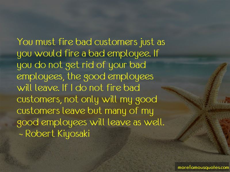Quotes About Bad Customers