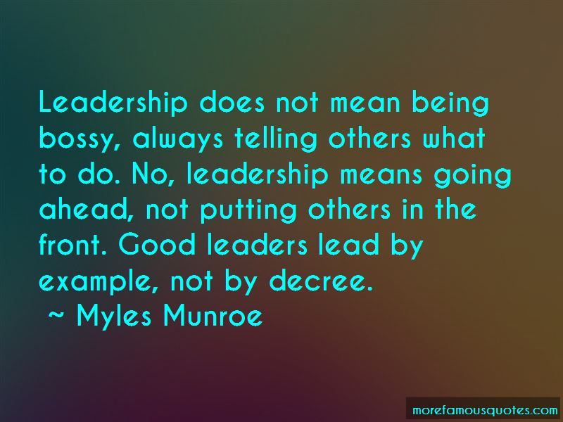 Being A Good Example To Others Quotes Pictures 4