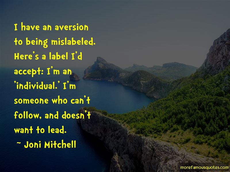 Quotes About Being Mislabeled