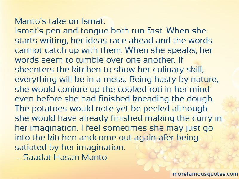 Quotes About Being Satiated