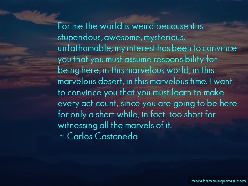 Quotes About Being Weird And Awesome