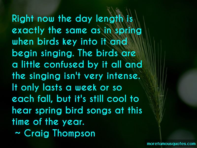 birdsong quotes Enjoy our birdsong quotes collection best birdsong quotes selected by thousands of our users.