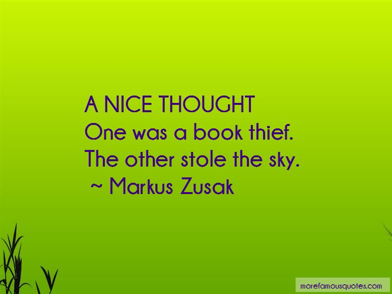 Quotes About Book Thief: top 27 Book Thief quotes from ...
