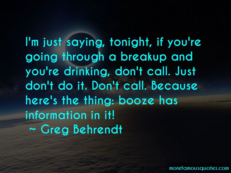 Quotes About Booze And Drinking