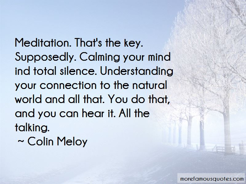 Quotes About Calming Your Mind